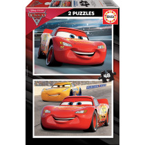 Puzzle 2x48 CARS 3 (cardboard)