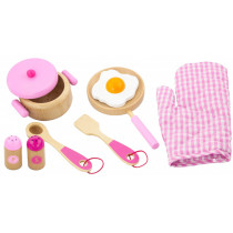 Cooking utensils set - rose