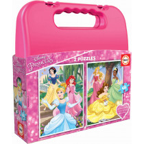CASE PUZZLE 2X48 PRINCESS