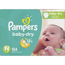 Pampers Baby-Dry Diapers...