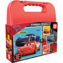 CASE PUZZLE PROGRESSIVE CARS 3