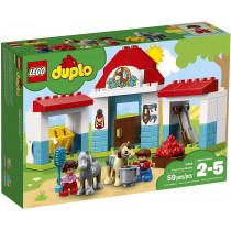 LEGO DUPLO Farm Pony Stable...