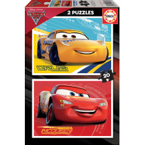 Puzzle 2x20 CARS 3 (cardboard)
