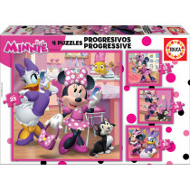 Puzzle PROGRESSIVE MINNIE...