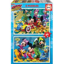 Puzzle 2X20 MICKEY ROADSTER...
