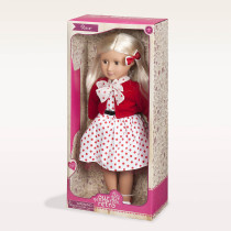 "Rose 18"" RETRO DOLL, WHITE..."