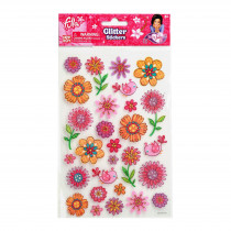 Fulla Glitter Stickers-Flowers