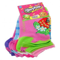 Shopkins 5 Pack Socks (One...