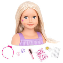 TRISTA, DOLL FACE DOLL BUST...