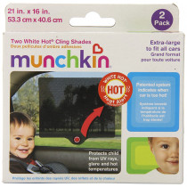 White Hot® Cling Shades - 2pk