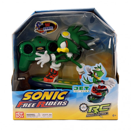 Sonic Free Riders Jet The Nawk RC
