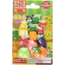 Iwako Fruits Puzzle Erasers