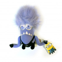 Purple Minions Plush Toy 16cm