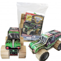 Monster Jam Build and Grow bag