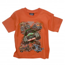 Monster Jam Orange T-Shirt