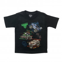Monster Jam Black T-Shirt