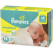 Pampers Swaddlers Diapers...